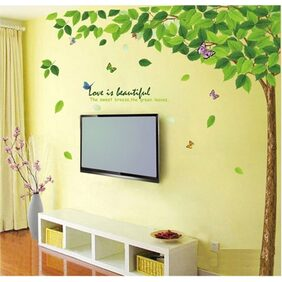 WallTola Bestselling Leaves Tree Wall Sticker