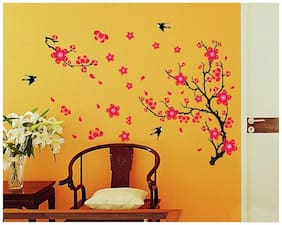 WallTola Printed Wall sticker ( Set of 1 )