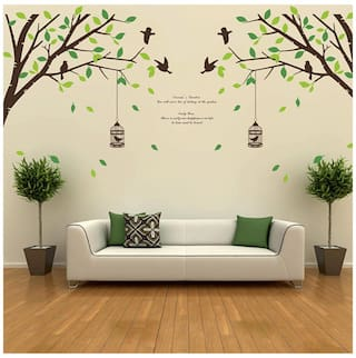 05fed5c428 Buy WallTola Printed Wall sticker ( Set of 2 ) Online at Low Prices ...