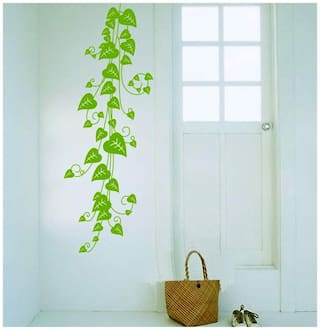 WallTola Wall Decals Pothos Vine Wall Sticker