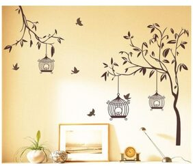 WallTola Printed Wall Sticker ( Set Of 1 )