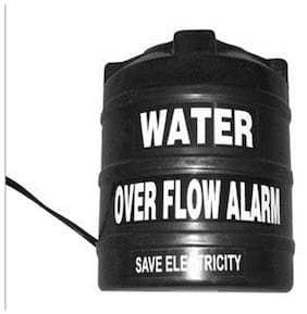 Water Tank Over Flow Alert Alarm Musical Alarm (Black)
