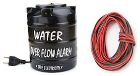 Water Tank Overflow Alarm (Ac) With 15 Meter Wire
