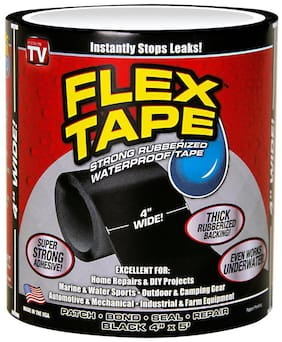 "Waterproof Flex Seal Tape (Size - 4"" X 5')"
