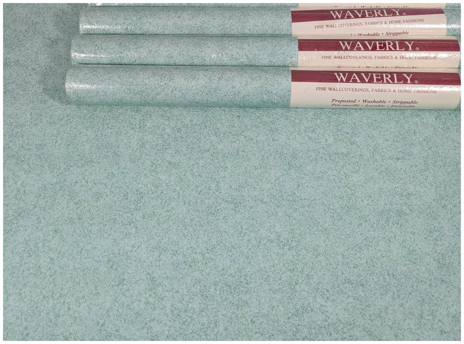 Waverly Wallpaper Border Green White Gingham Check Plaid 5.25 inch