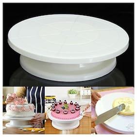 Way Beyond Cake Rotating Table 360 Degree (28 cm;White)