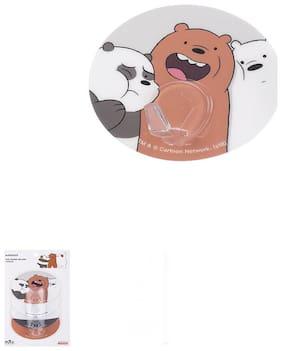 Miniso We Bare Bears- Hook (Pack of 4)