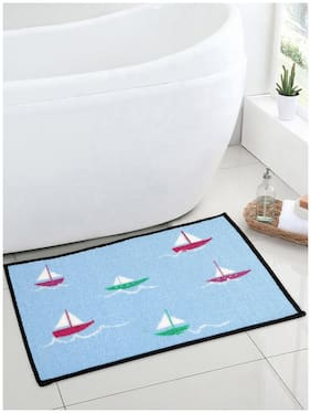 Welhome Funmat Blue Kids 1 Bath Mat