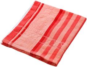 Welhouse India 140 GSM Cotton Bath towel ( 1 piece , Assorted )