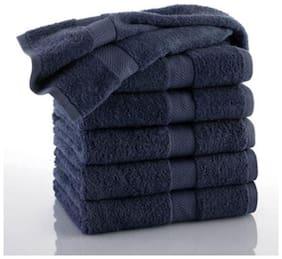 Welhouse India 200 GSM Cotton Face towel ( 6 pieces , Multi )