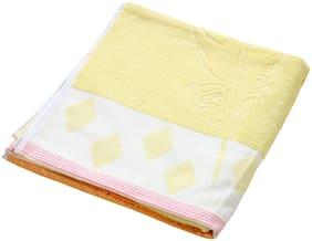 Welhouse India 200 GSM Cotton Bath towel ( 1 piece , Assorted )