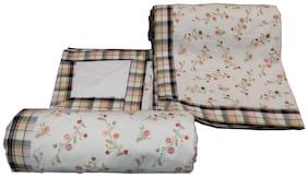 Welhouse India Floral Print Single Bed Dohar Set of 2