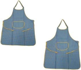 Welhouse Polyester Apron Multi ( Pack of 2 )