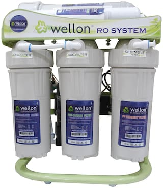 Wellon 40 Lph Domestic/Commercial Ro  Tds Controller Water Purifier