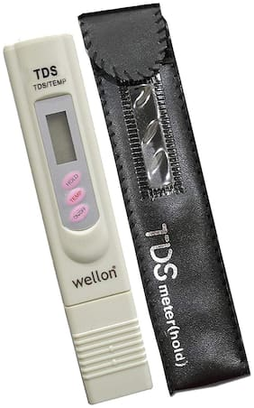 Wellon Digital LCD TDS Meter for RO Filter Purifier Water Quality Tester
