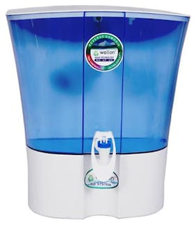 Wellon TS 0356 Plastic Elegant RO+UV+UF+TDS Controller Water Purifier System