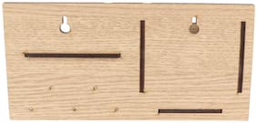 WENZEL  Wooden Key Holder With Mobile Stand (Set of 1)