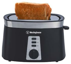 Westinghouse TO2KS-CF 2 Slices 800 W Pop-Up Toaster - Black