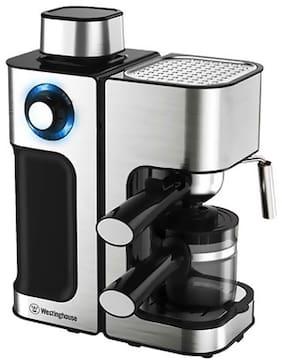 Westinghouse CM80KS-CF 800 W Tea & Coffee Maker (Silver;Black)