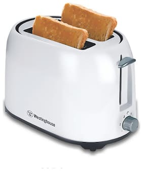 Westinghouse TO2WPP-CT 2 Slices 750 W Pop-Up Toaster - White