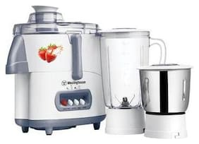 Westinghouse JE45WW2A-DS 450 W Mixer Grinder ( White , 2 Jars )