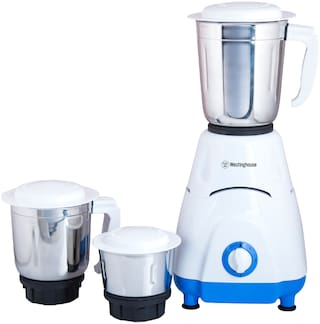 Westinghouse MG55W3A-DH 550 W Mixer Grinder ( Blue , 3 Jars )