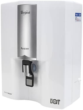Whirlpool Puratron 8 L EAT Water Purifier  (silver white)