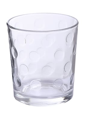 Uniglass Pop Whiskey Glass Set 285ml,  set of 6 pcs, Trasparent
