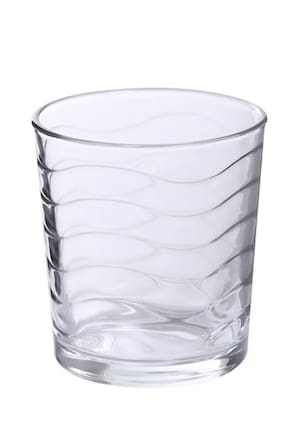 Uniglass Kyma Whiskey Glass Set 285ml,  set of 6 pcs, Trasparent