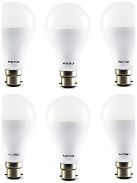 Wipro 14w Led Bulb (cool Day Light - 6500k) - Pack Of 6