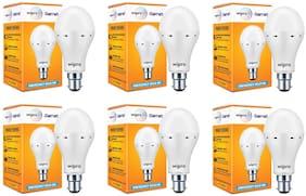 Wipro 9W Inverter Emergency LED Bulb 6500K Cool Day Light - Pack of 6