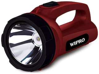 Wipro Emerald Rechargeable Emergency Light (Red)