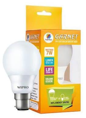 WIPRO GARNET 7W LED BULB 6500K-N70001 Pack of 1
