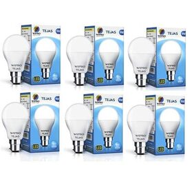 Wipro Tejas 9W LED Bulb- Pack of 6