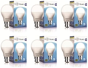 Wipro Tejas 9 Watt B22 LED Bulb (Pack of 6)