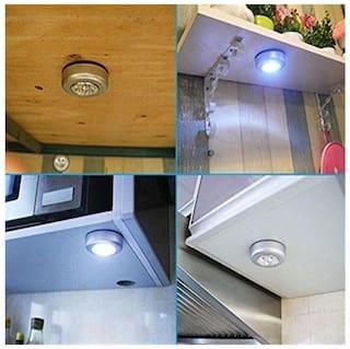 Wireless Wardrobe Cabinet Lamp Tap Touch Night Light