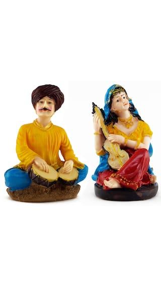 buy wishkey rajasthani traditional couple set home decor statue gift
