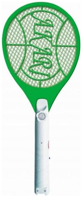 Wokaholic Qualimate Mosquito Killer Bat Racket (Assorted Pattern and Design) Pack of 1 (Assorted)