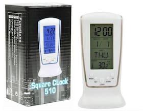 WOMS White Alarm Clock