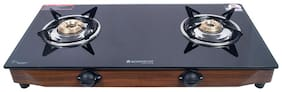 Wonderchef 2 Burners Gas Stove - Black