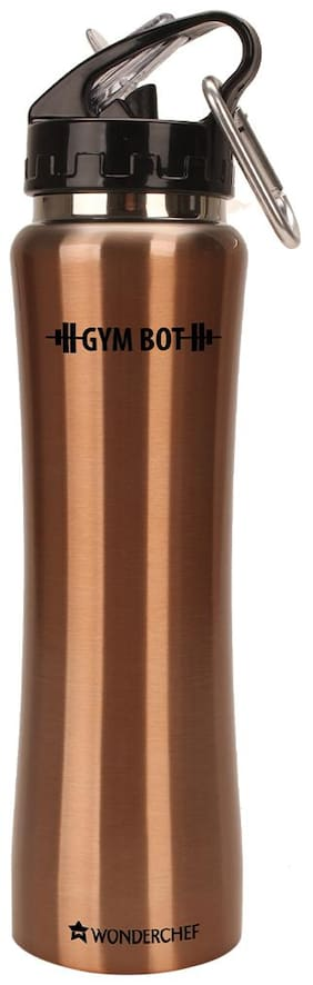 Wonderchef 750 ml Stainless Steel Copper Water Bottles - Set of 1