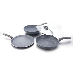 Wonderchef Granite Set With Free Dosa Tawa 26cm Worth Rs 1400/-