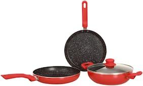 Wonderchef Milano 4 pcs NonStick Cookware Set