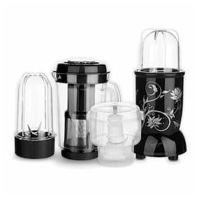 Wonderchef NUTRI-BLEND CKM 400 W Juicer Mixer Grinder ( Black , 3 Jars )