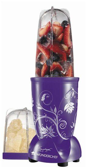 Wonderchef Nutri-blend 400 W 2 Jars Juicer Mixer Grinder ( Purple )