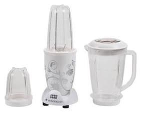 Wonderchef NUTRI-BLEND 400 W Hand blender ( White )