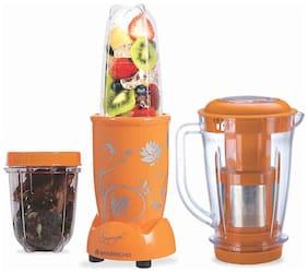 Wonderchef 63152808 400 W Juicer Mixer Grinder ( Yellow , 3 Jars )