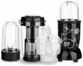 Wonderchef NUTRI-BLEND CKM 400 W Juicer Mixer Grinder ( Black , 3 Jars )