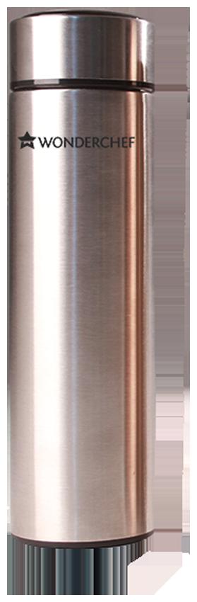 Wonderchef Thermosteel Flask Set of 1 ( Silver , Stainless Steel ,  480 ml )