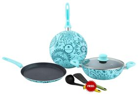 Wonderchef Oscar Blu Doppio Set Of 4pcs